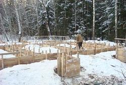 Бетонные работы в зимних условиях