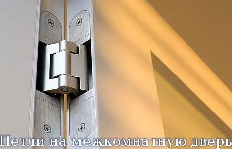 Петли на межкомнатную дверь